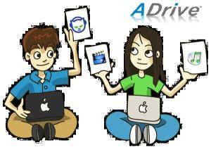 ADrive ens permet veure i compartir els nostres fitxers allà on siguem