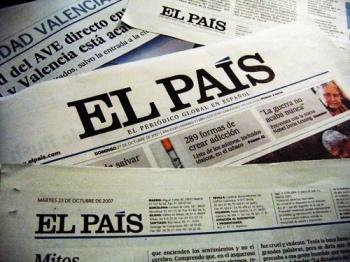 El País va remodelar el seu disseny l'any 2007. Des de 1976 s'havien intruït molt pocs canvis / CC micora