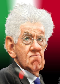 Monti lidera una coalició amb poques possibilitat de guanyar les eleccions del proper 24 i 25 de febrer // CC DonkeyHotey